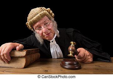juge, décision