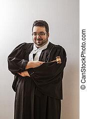 juge, heureux