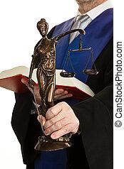 juge, justice, code