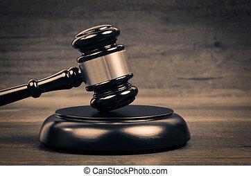 juge, justice, droit & loi, symbole.
