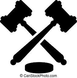 juge, marteau, justice