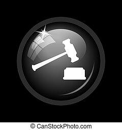 juge, martelez icône