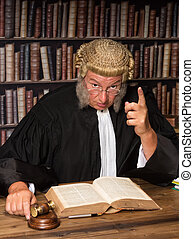 juge, parole