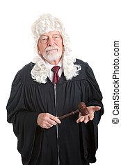 juge, porter, perruque