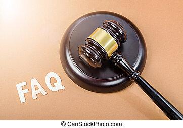 juge, questions fréquemment demandées, hammer.