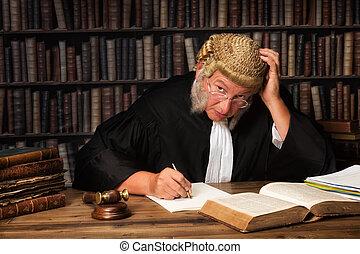 juge, songeur