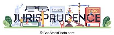 jugement, education., typographique, jurisprudence, punition...