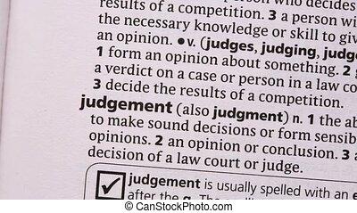 jugement, mis valeur, vert