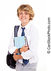 jugendlich, high school kursteilnehmer, porträt