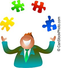 juggling jigsaw - missing pieces