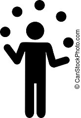 Juggling Pictogram