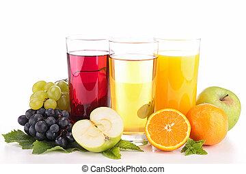 jugo, fruta