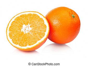 jugoso, naranjas, refresco