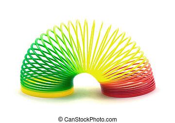 juguete primavera, colorido