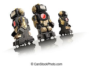 juguete, robotes