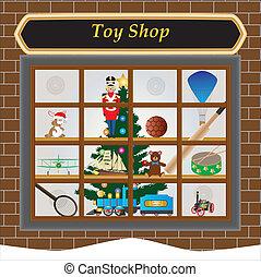 juguete, tienda
