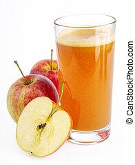 juice, äpple, bakgrund