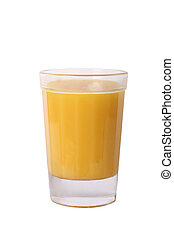 juice in a glass