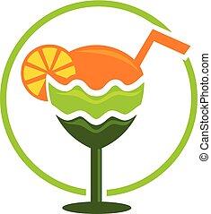 Juice Logo Design Template Vector