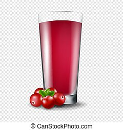 Juice Of Cranberry Transparent Background