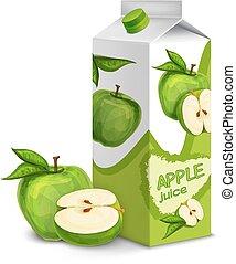 Juice pack apple