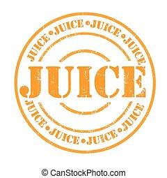 Juice stamp