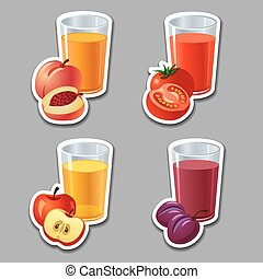juice stickers