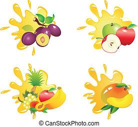 Juice vector - Set of vegetable vectors. To see similar,...