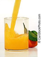 juice with orange