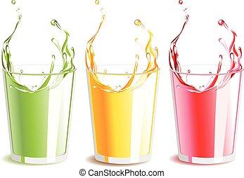 Juices set