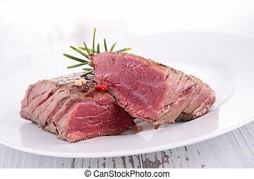 juicy fillet steak