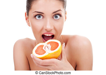 Juicy fruit!