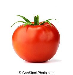 Juicy isolated tomato