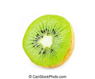 Juicy kiwi fruit.