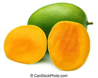 Juicy Langra Mangoes of Inidan Subc