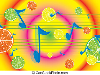 Juicy melody background