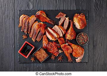 Juicy Peking Duck Carved Table-Side
