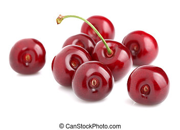 Juicy ripe cherry