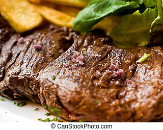 juicy steak beef meat