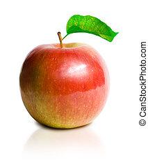 Juicy super fresh apple. - Shot of juicy super fresh apple...