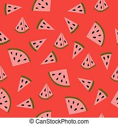 Juicy watermelon pattern