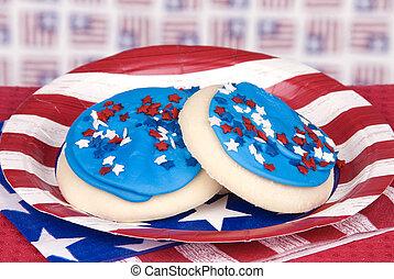 juillet, biscuits, quatrième