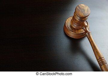 juizes, noz, pretas, auctioneers, gavel, tabela, ou
