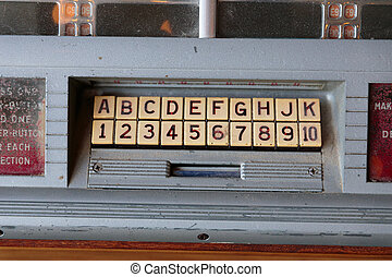 Jukebox Letters and Numbers