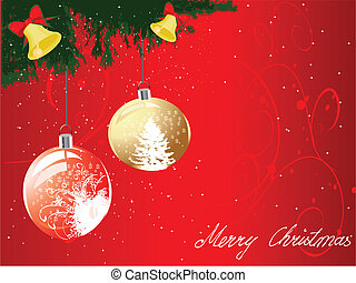 jul, bakgrund, vektor