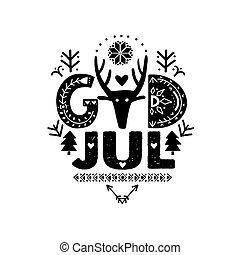 jul, calligraphy, merry, gud, svensk, jul