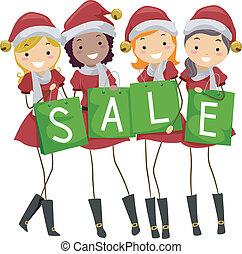 jul, försäljning