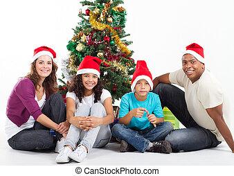 jul, familie