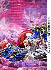 jul nytt och år, utsmyckningar