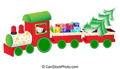 jul, tåg